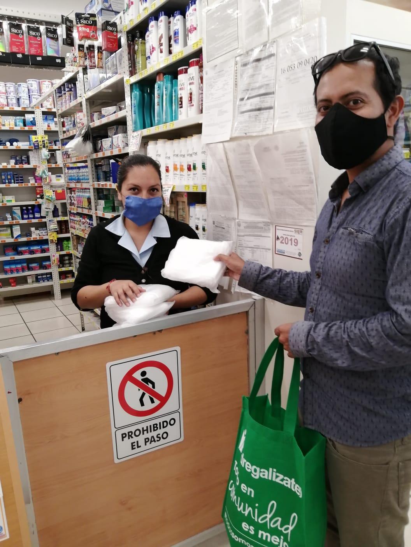 DONACIÓN CUBREBOCAS-VILLAS DEL PEDREGAL-HOGARES HERSO 5