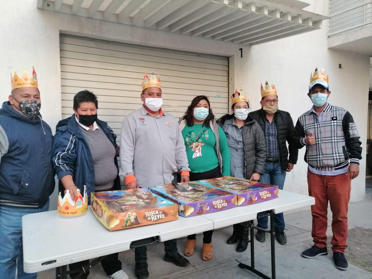 Embajadores de los Reyes Magos llegan a los Desarrollos de Hogares Herso 7