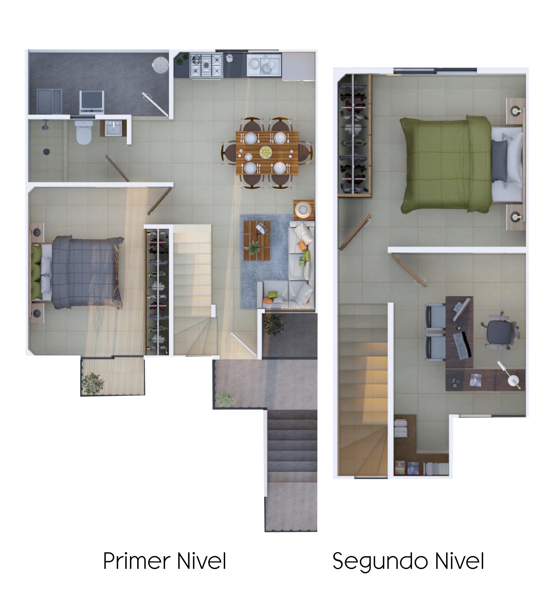 Modelo Uva- Villas Oriente- Hogares Herso
