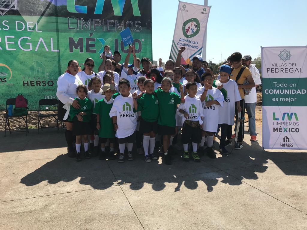 LIMPIEMOS MÉXICO-VILLAS DEL PEDREGAL